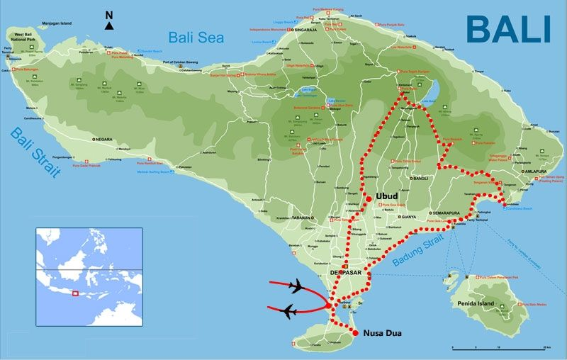 Map of bali tours exotic bali with optional singapore hong kong map of bali tours exotic bali with optional singapore hong kong tour gumiabroncs Image collections