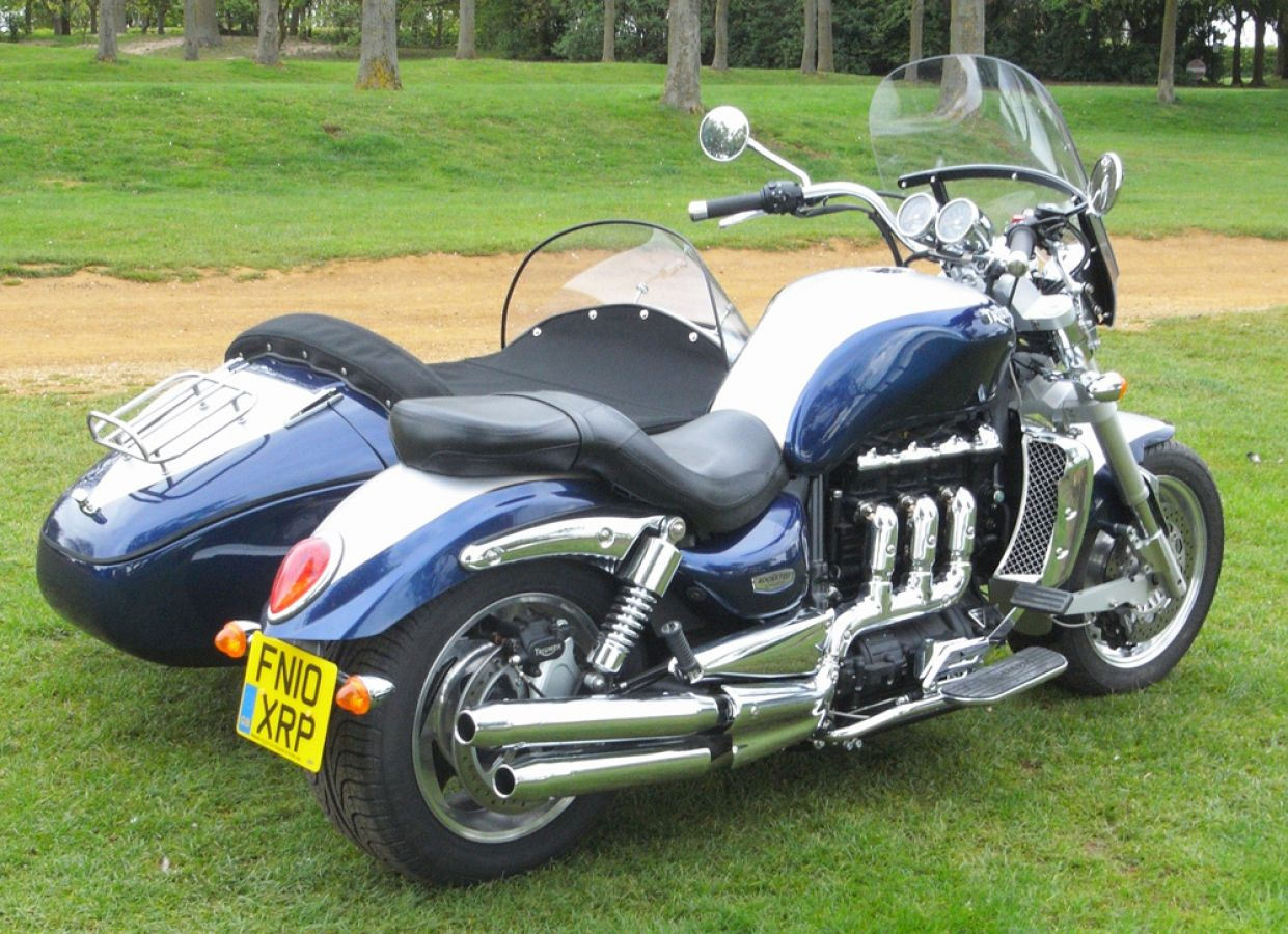 Triumph Rocket 3 Classic Sidecar Outfit Trike Kitcar Hacked
