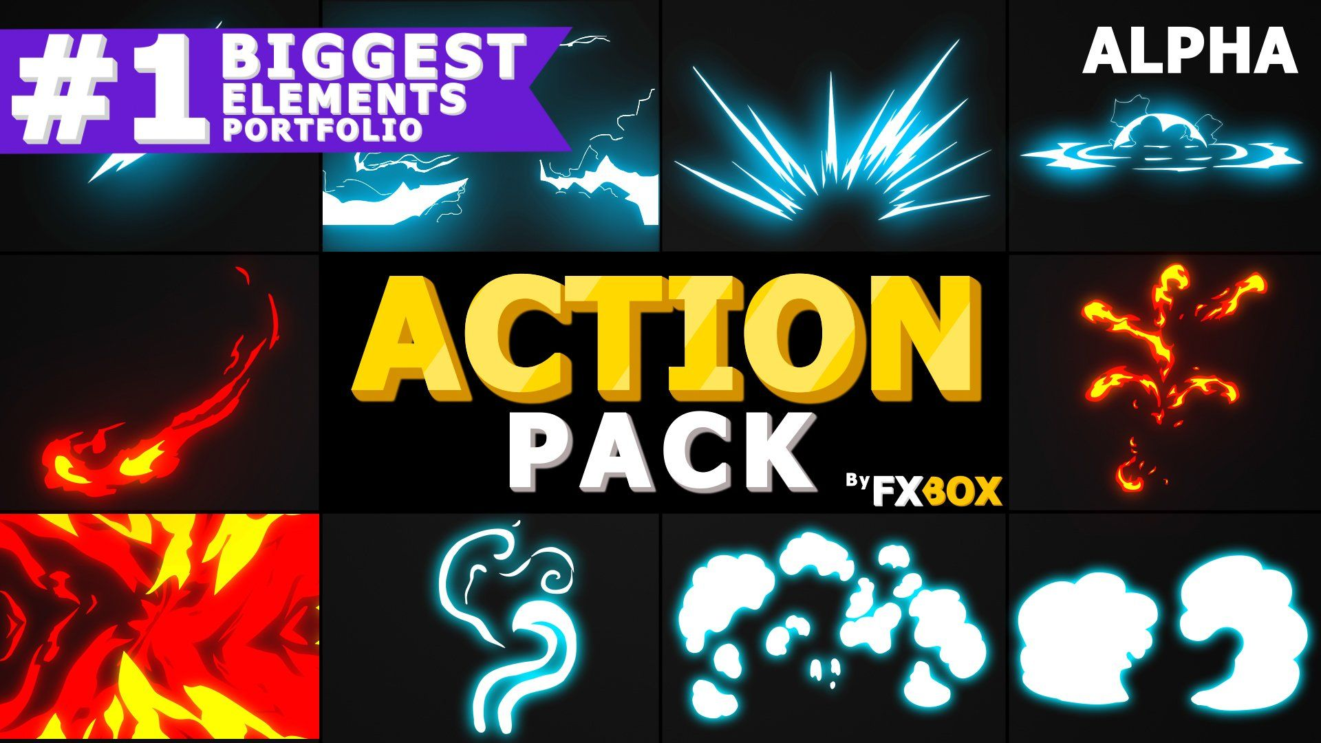 Action Elements Premiere Pro Mogrt Ad Add Items Included