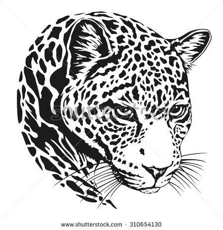 jaguar head | jaguares en 2018 | Pinterest | Jaguar, Illustration y Art
