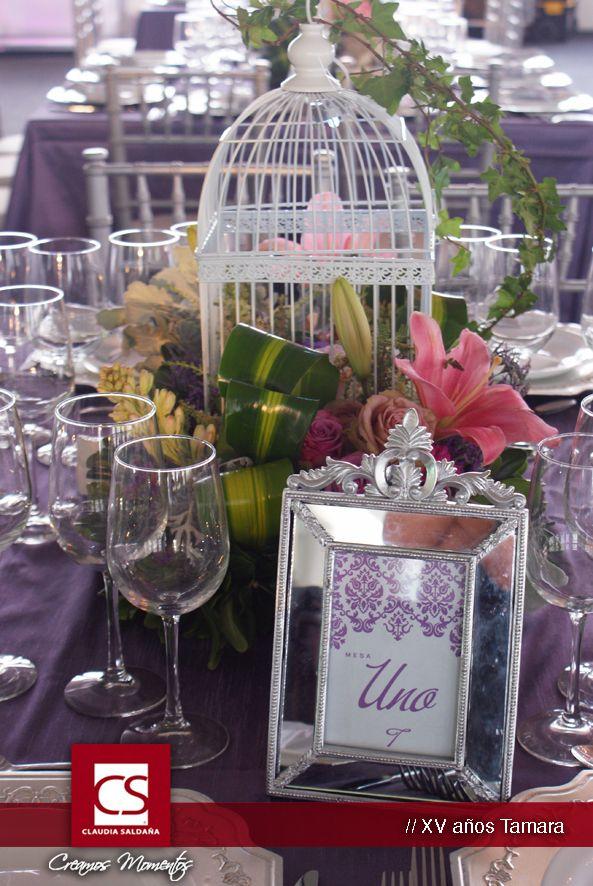 Centro de mesa shabby chic numero de mesa xv tamara branding for weddings numeros para - Mesa shabby chic ...