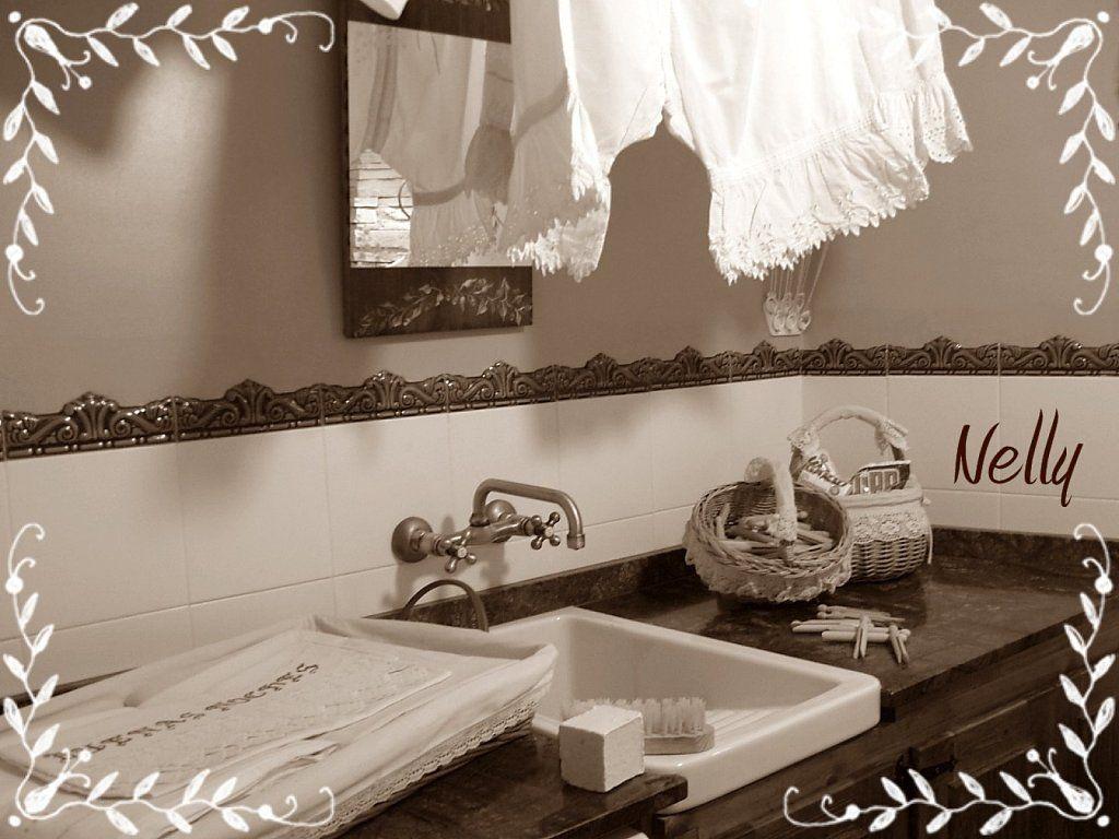 Este es mi cuarto de la plancha,un estilo más clásico.