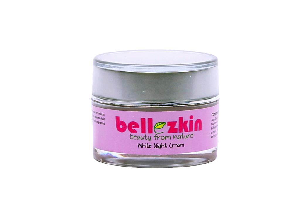 Bellezkin White Night Cream mengandung zat aktif herbal