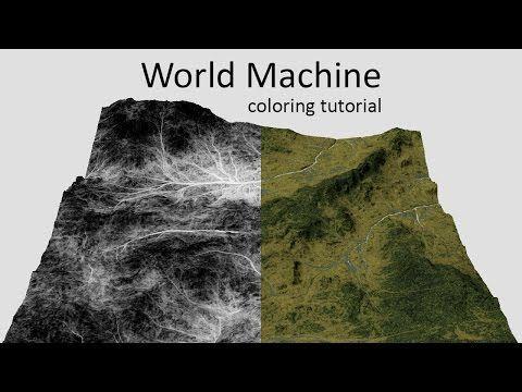 World Machine - Texturing tutorial - YouTube