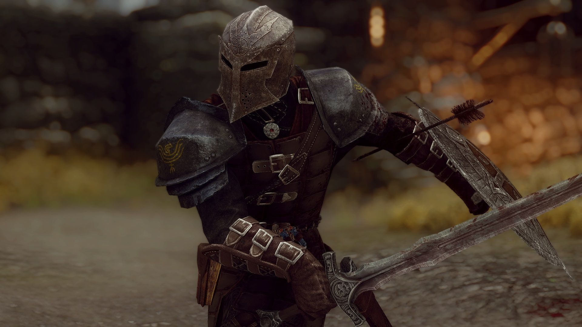Dawn Of The Dawnguard Armor At Skyrim Special Edition Nexus Mods