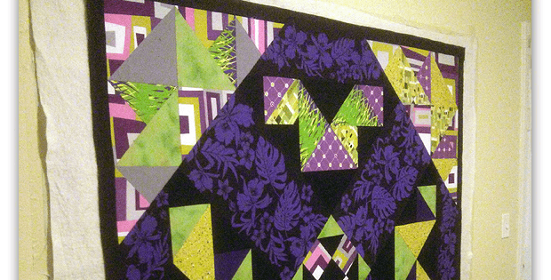 Baste Your Quilt On The Wall And Save Your Knees Quilting Digest Quilts Quilting Techniques Art Quilts