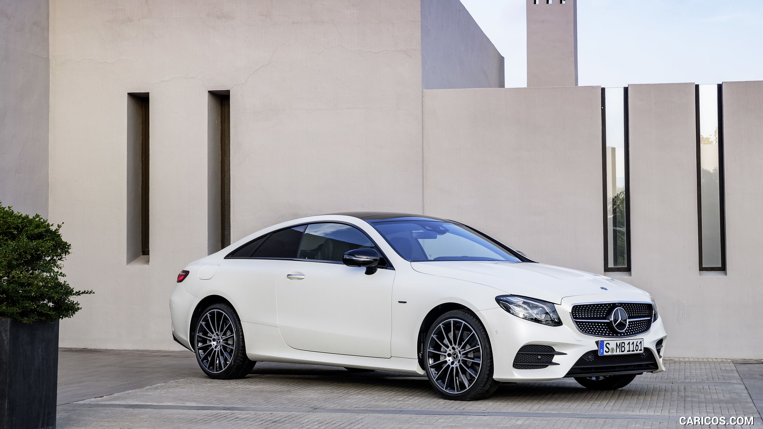 2018 Mercedes Benz E Class Coupe Edition 1 Amg Line Night Package Color Designo Kashmir White Magno Fron Benz E Mercedes E Class Coupe Mercedes Benz Coupe