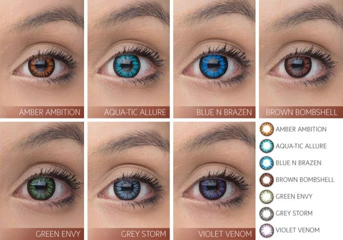 Splash Of Color 2 6 Pack Contact Lenses Only Available
