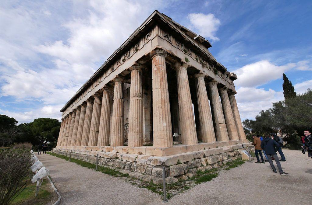 Hephaisteion Dans L Agora D Athenes Visiter Athenes Athenes Et