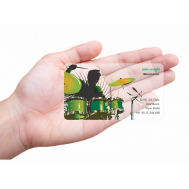 Transparent Business Cards Online In India With Custom Printing Printland Transparent Business Cards Business Cards Online Plastic Business Cards