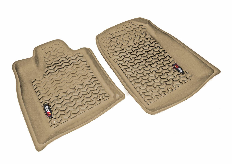 Weathertech floor mats grand forks - Floor Liners Front Tan 2011 Dodge Durango Jeep Grand Cherokee Wk