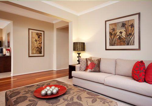 14 Ide Warna Cat Ruang Tamu Yang Elegan Living Room Color Schemes Living Room Wall Color Living Room Color
