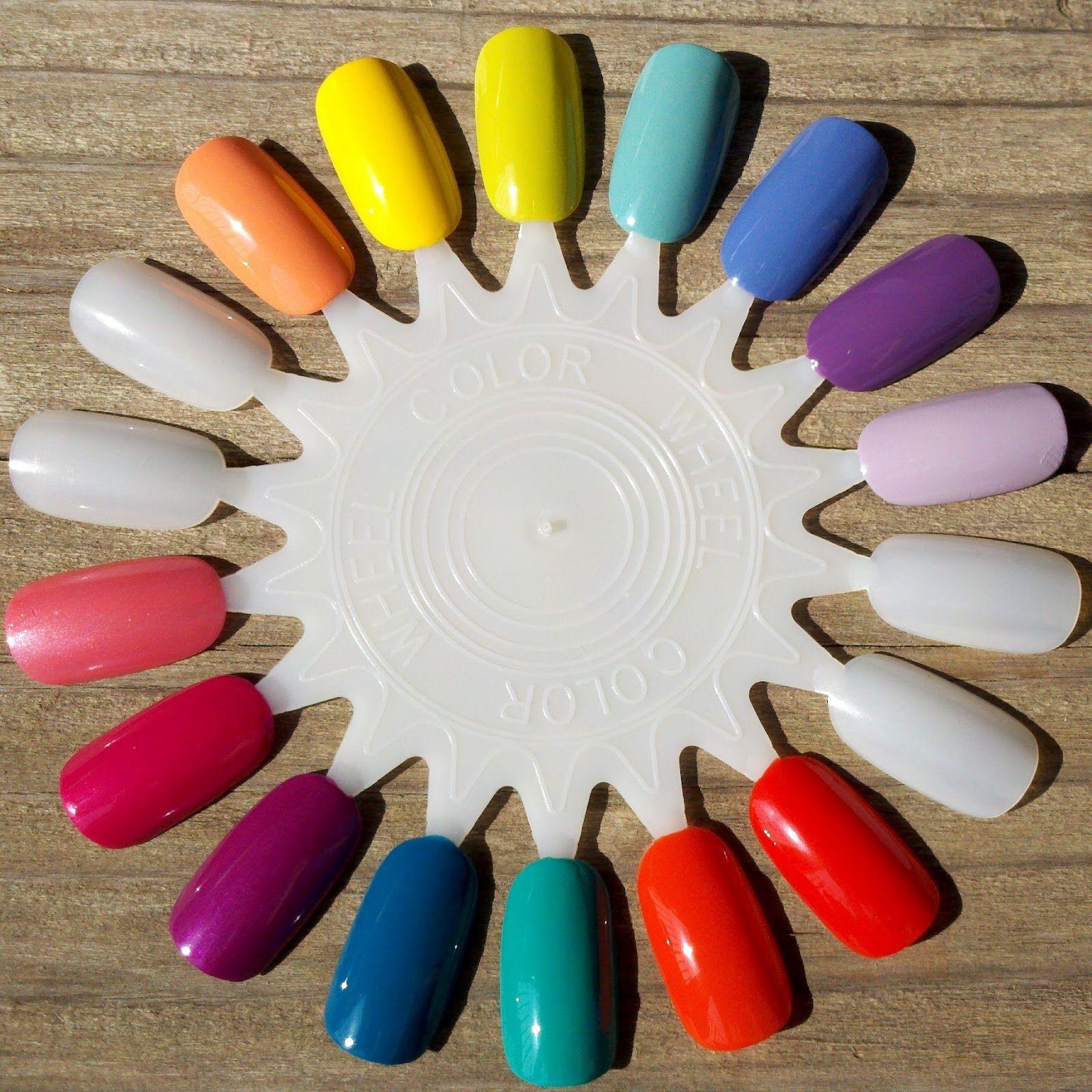 Salonperfect Nail Wheel Swatches Nails Nails Nail Colors Polish