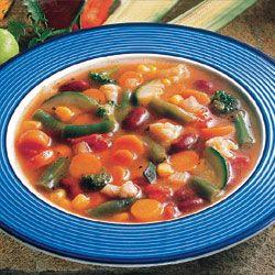 Merveilleux Garden Vegetable Soup A Colorful Blend ...