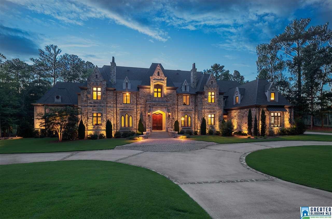 7 deerwood birmingham al mansions stone mansion