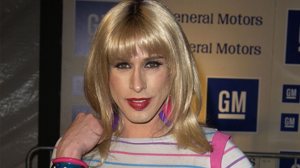 Actress Alexis Arquette 1969 2016 Had A Role In The Comedy Wedding Singer And Was Sister Of Actors David Patricia Rosanna