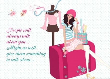 Wallpaper Girl Attitude Quotes Girly Wallpapers 1017641203
