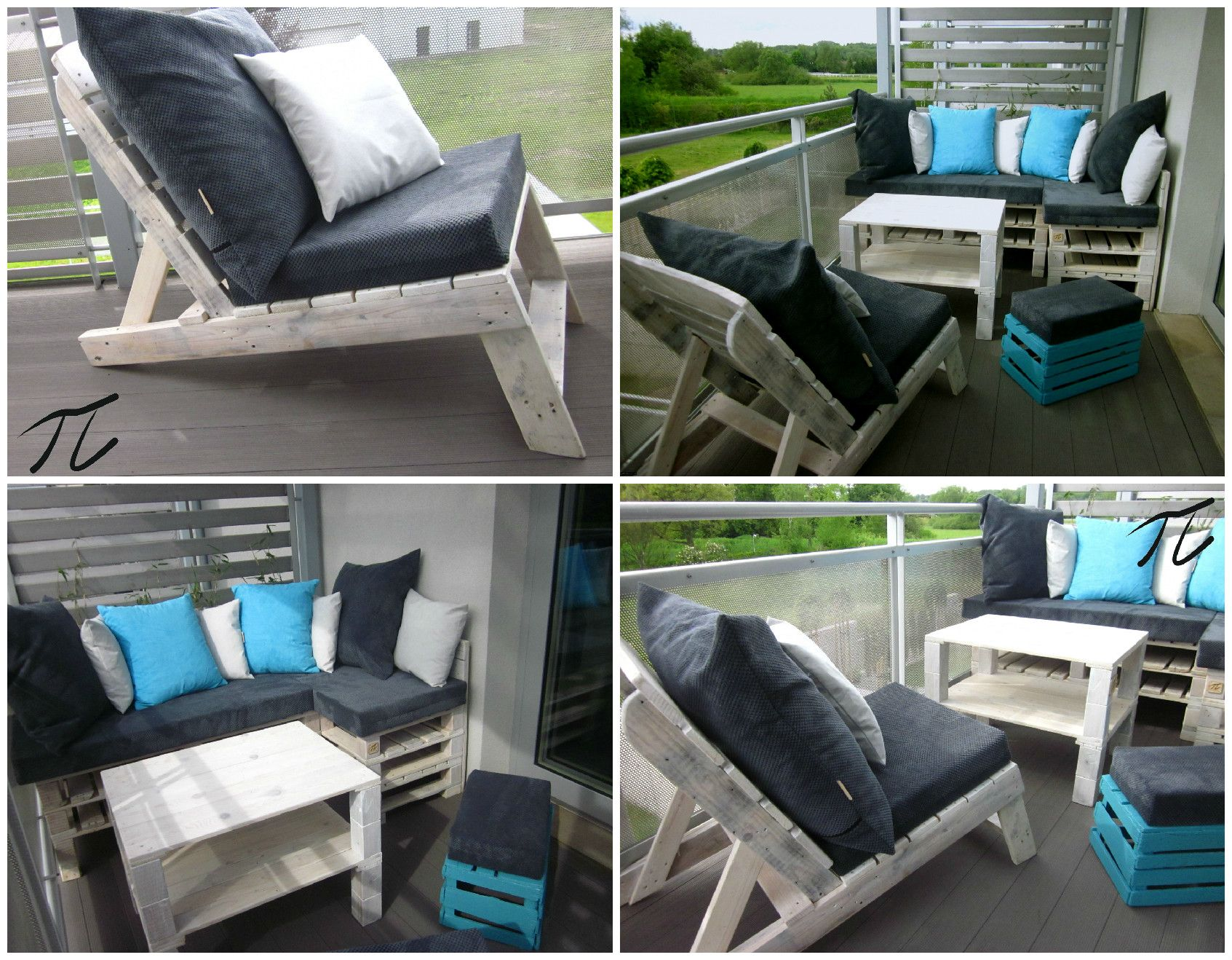 Upcycled Pallet Terrace Design Terrace Design Pallet Furniture Designs Pallet Furniture Plans