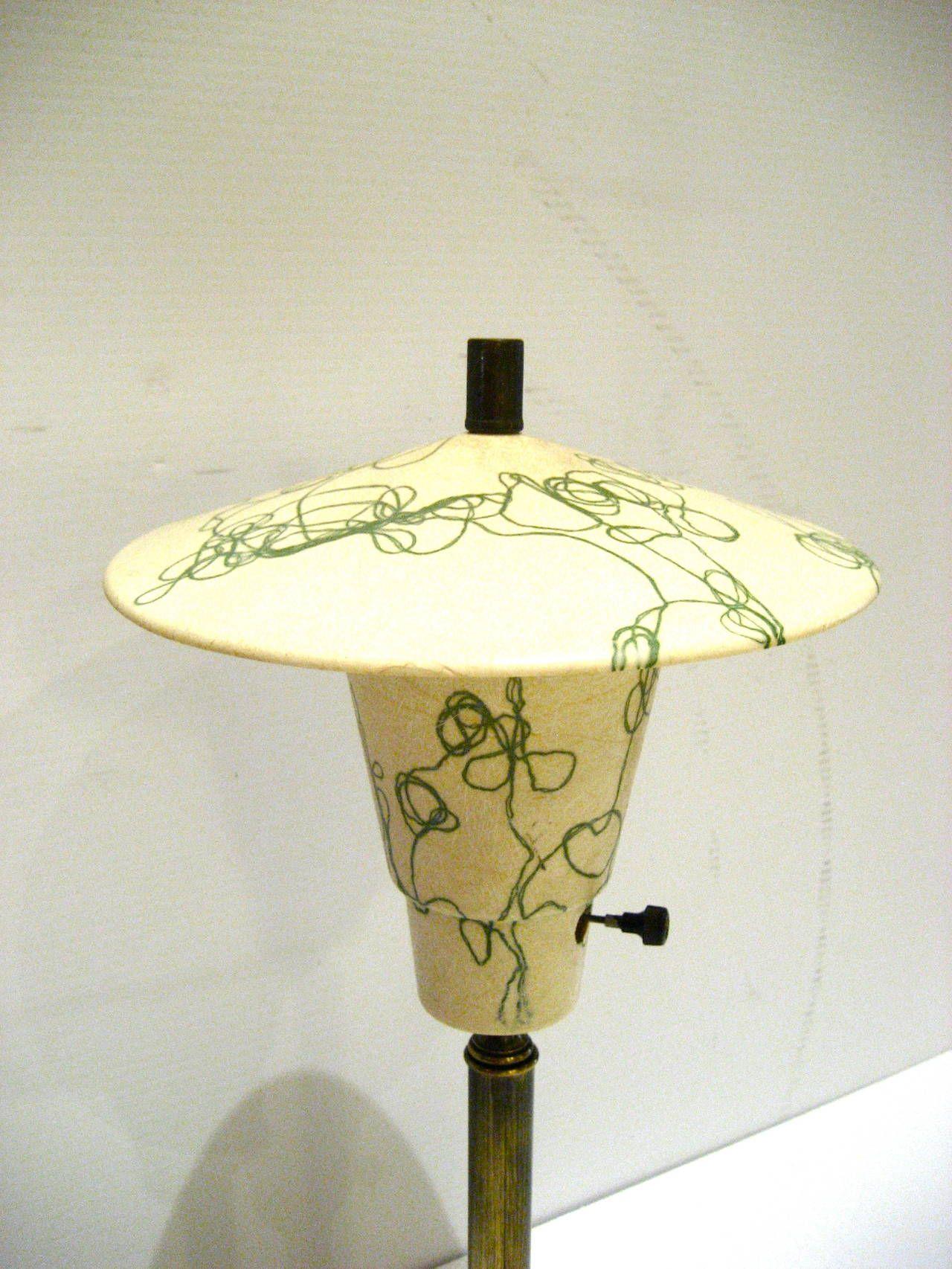 1950s american fiberglass lamp shade desk lamp california design 1950s american fiberglass lamp shade desk lamp california design from a unique collection of antique aloadofball Choice Image