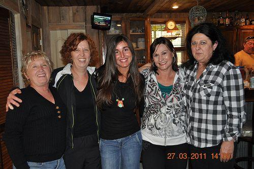 Becky,Teresa, Sandra, Jessica, Jean