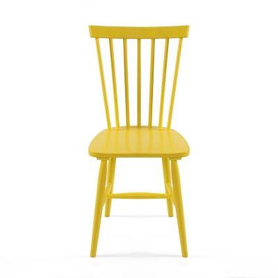 Wood pinnatuoli H17, keltainen