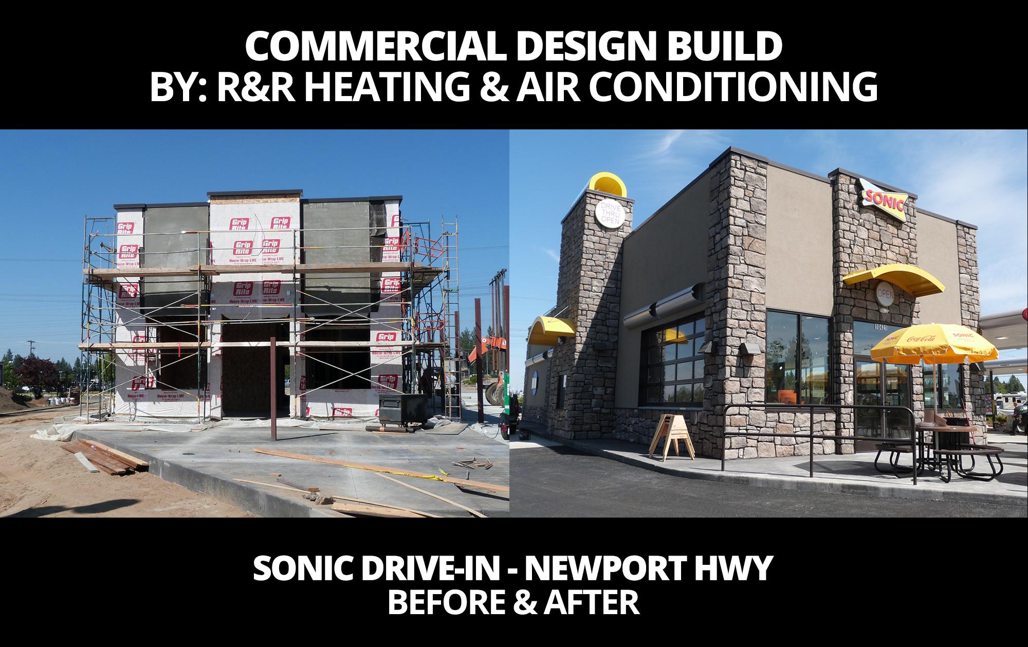 Before After Photo Commercial Design Build Building Design