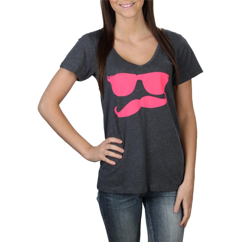 Volcom Russtache V Neck T-Shirt - Womens $25.00