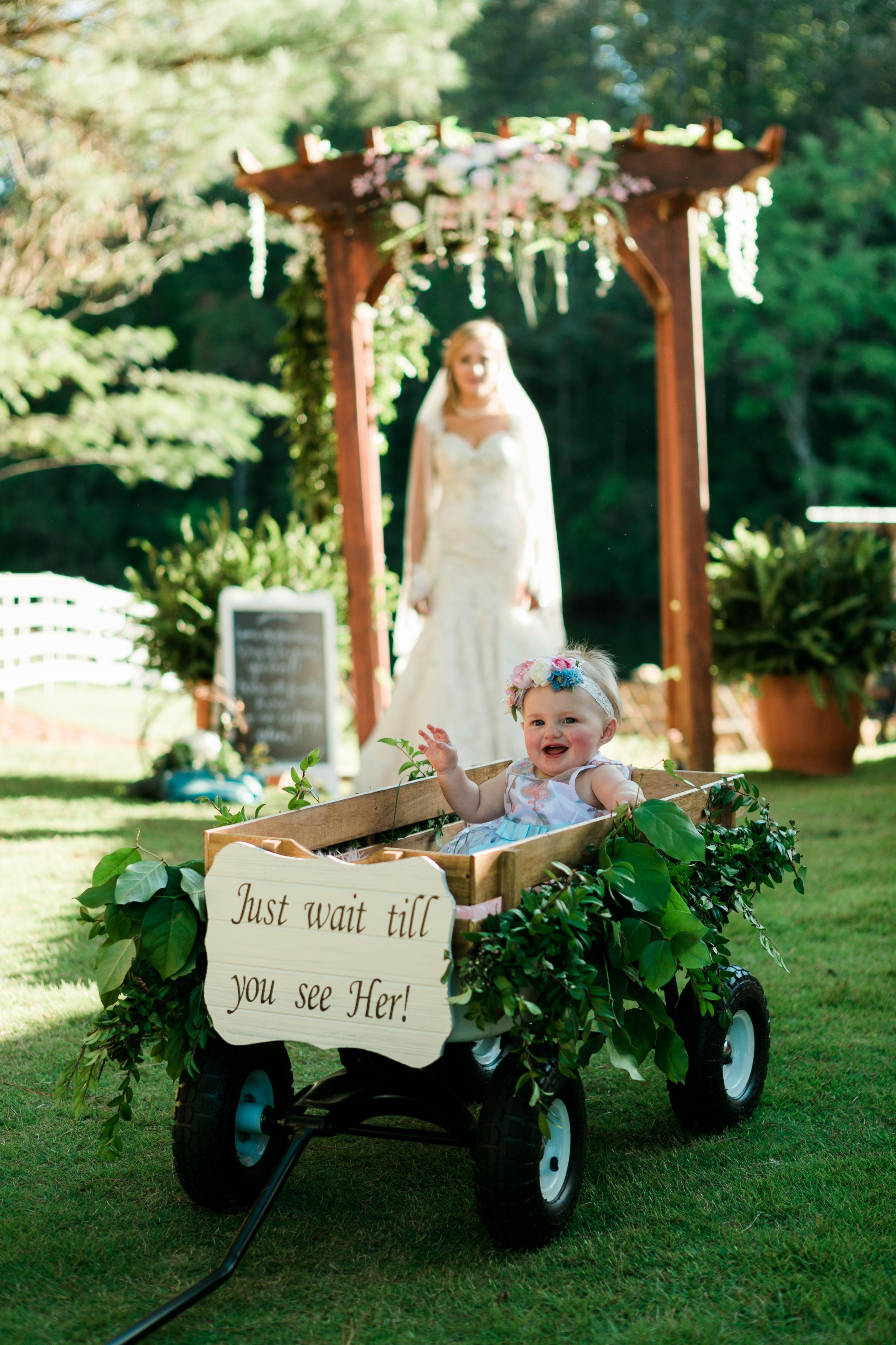 Wedding Flower Girl Wagon Flower Girl Wagon Wagon For Wedding Wedding Flower Girl