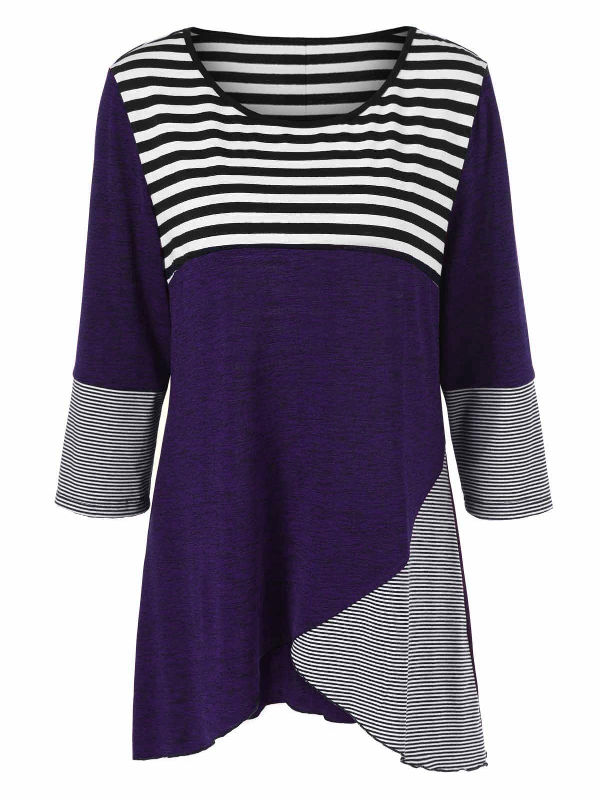 $6.66 Striped Tunic T-Shirt