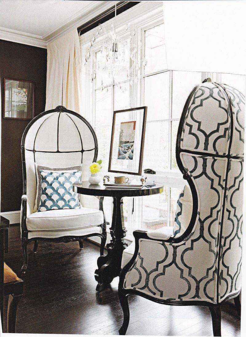Wonderful! Awesome porter\'s chairs | love things by lisa linzie ...