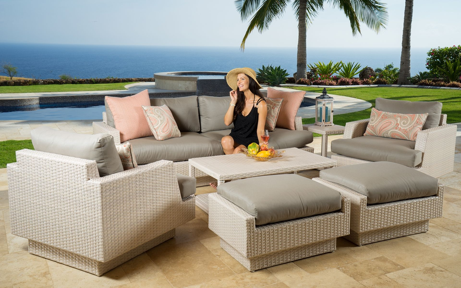 Awesome Portofino Patio Furniture Home The Outdoor Furniture