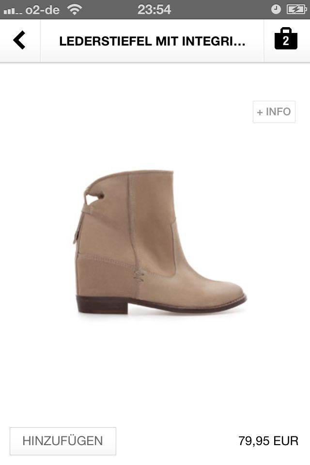 Boots Zara Sept 2013