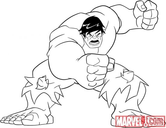 hulk coloring pages superheroes printable 87531