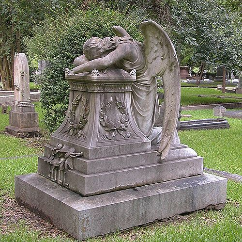 Weeping Angel | Weeping Angel, Glenwood Cemetery, Houston, T… | Flickr