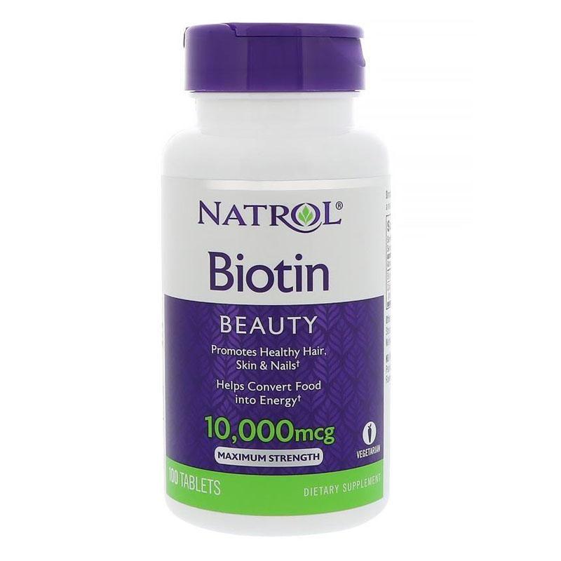 Biotin Capsules Price 34 95 Biotin A Water Soluble B Vitamin Acts As A Co Enzyme In The Metabolism Of Proteins Fa Natrol Biotin Biotin Best Hair Vitamins