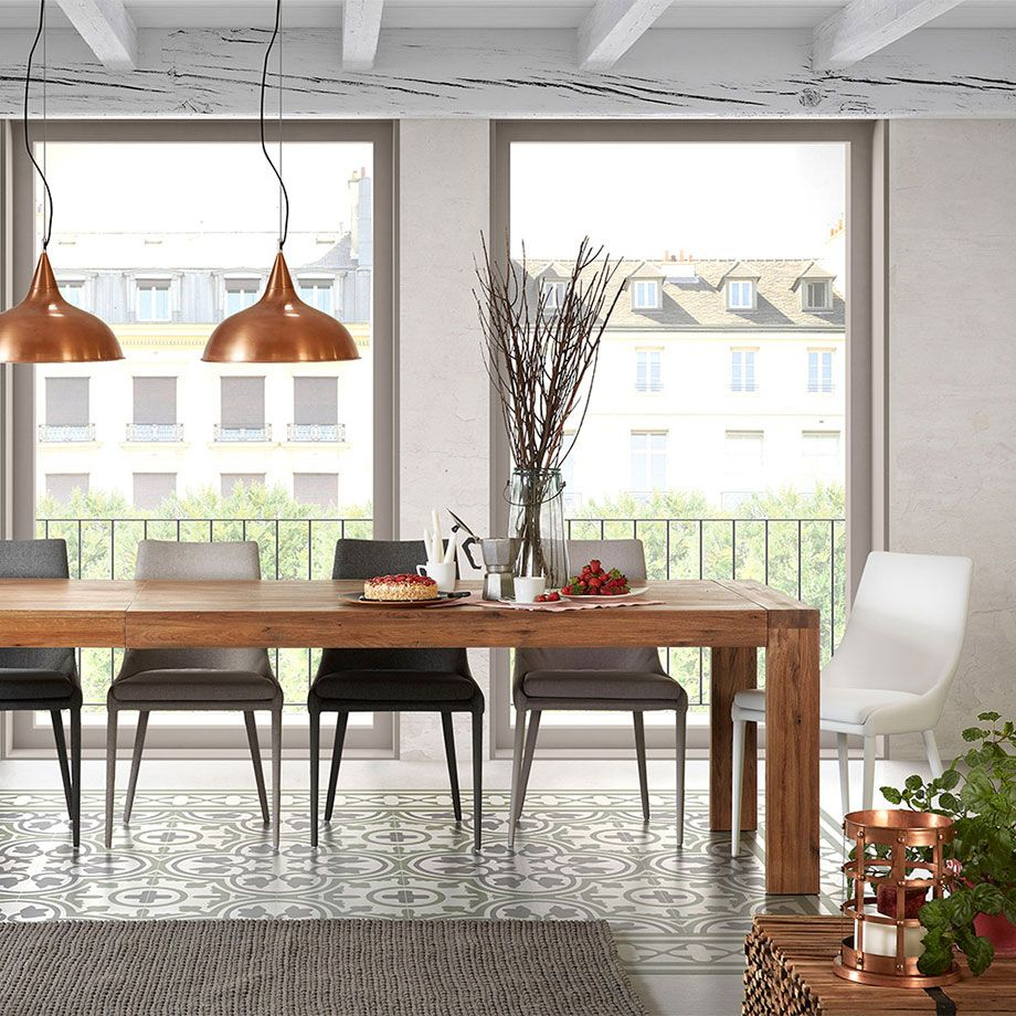 Eclectic tables and chairs from spain home dining room