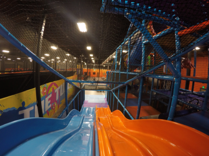 The Most Epic Indoor Playground In Oklahoma Will Bring Out The Kid In Everyone Indoor Playground Playground Indoor Waterpark