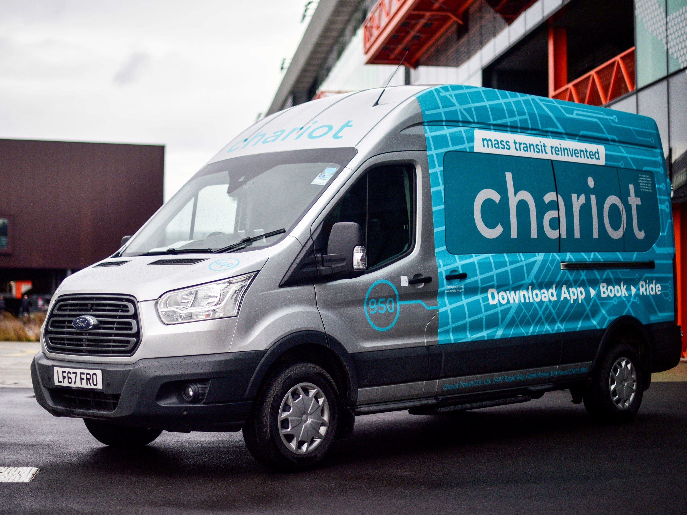 Ford Shuts Down Its Chariot Shuttle Service Rideshare