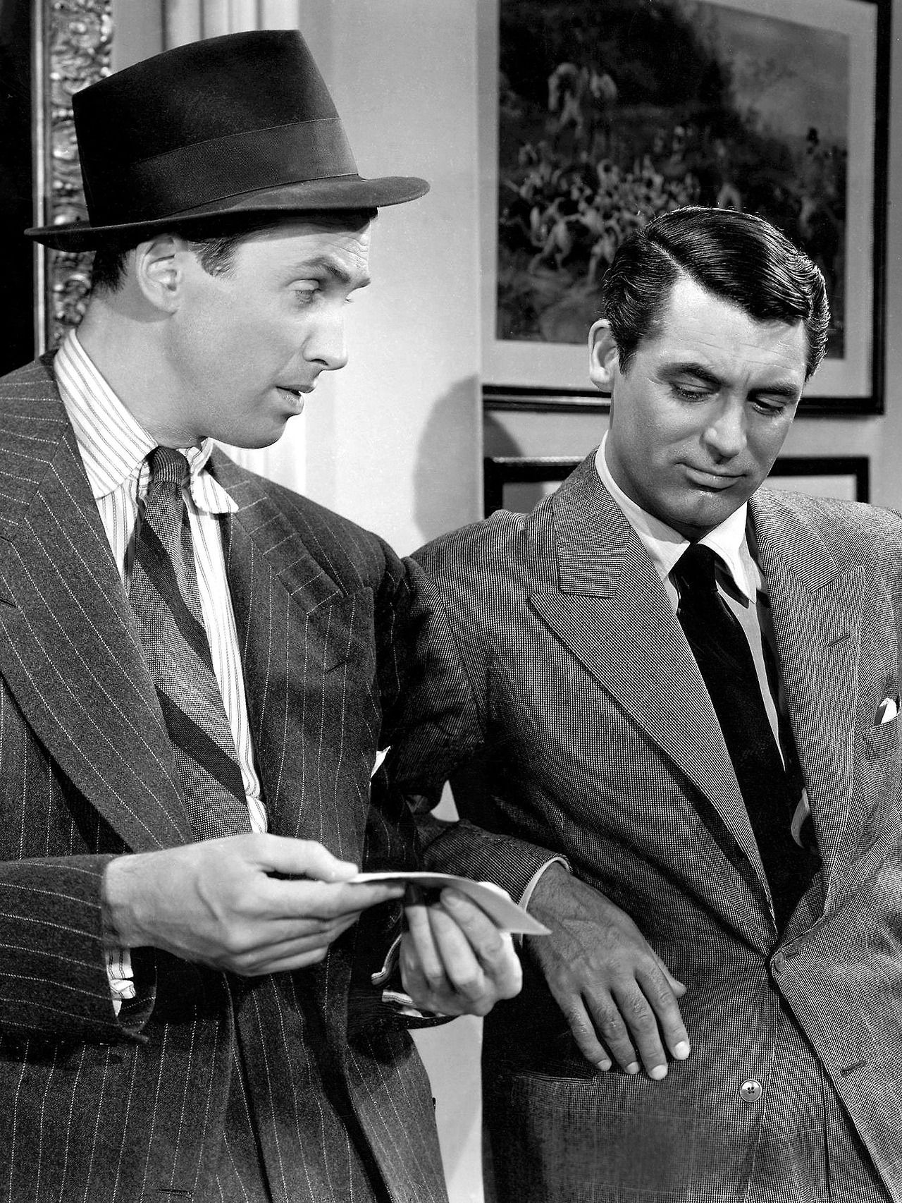 James Stewart ✮ and Cary Grant ✮ in The Philadelphia Story, (1940)
