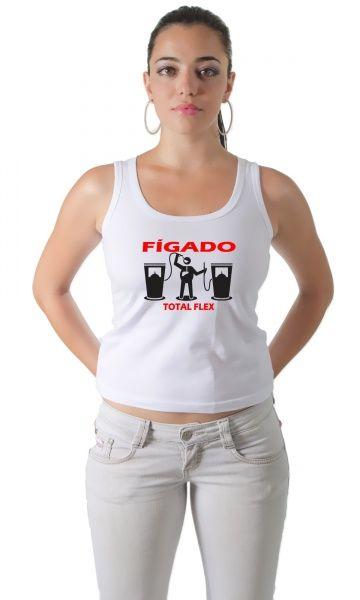 Camiseta Figado Total Flex - Nossa Camisa