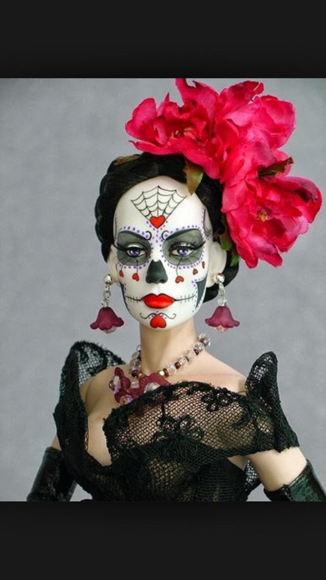 Catrina Elegante Y Hermosa Slvh Dia De Los Muertes