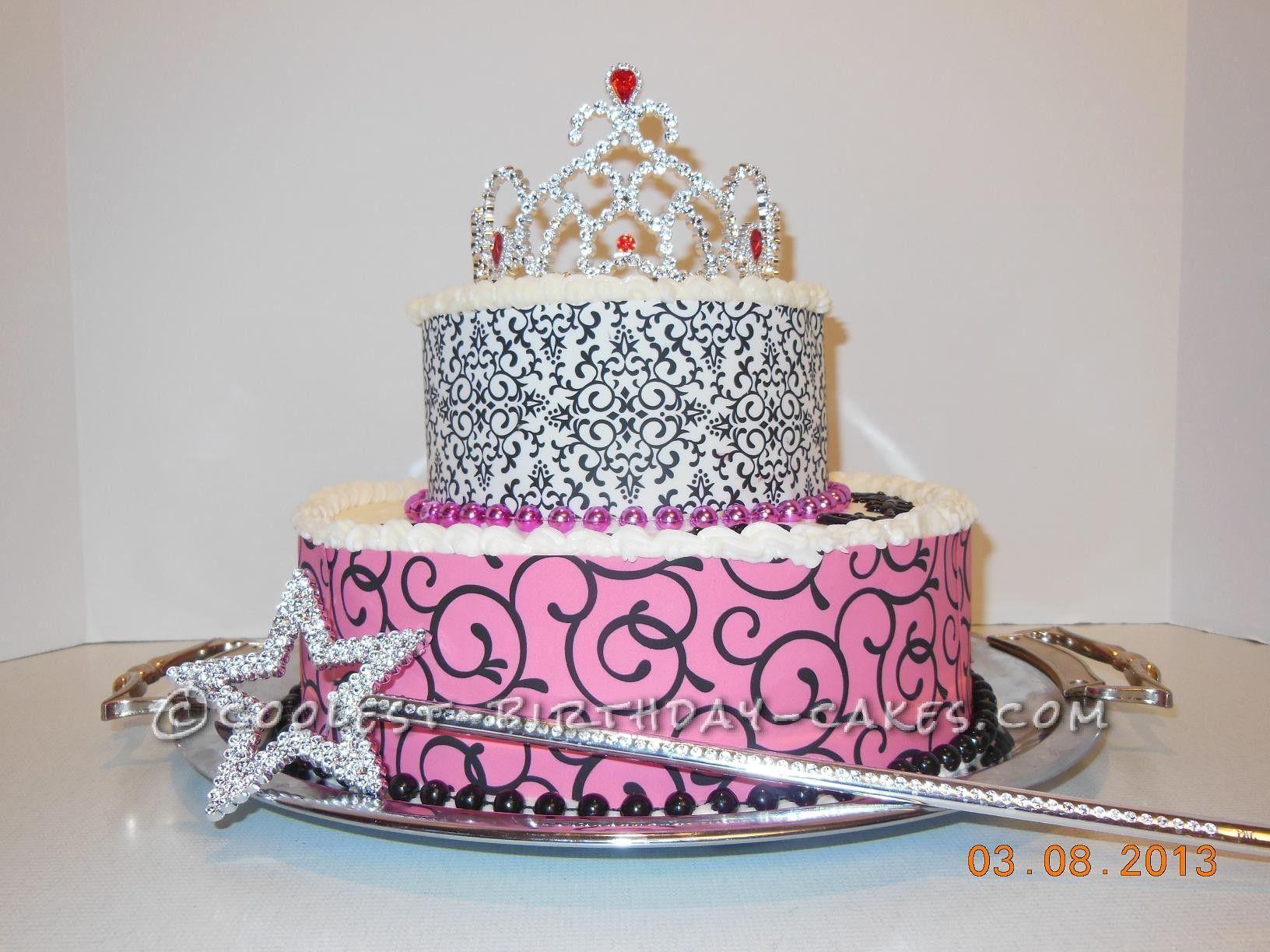 40 Year Old Diva Birthday Cake Diva birthday cakes Birthday cakes