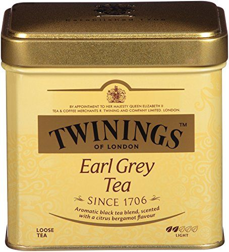 Twinings Of London Earl Grey Loose Tea Tins 3.53 Ounces