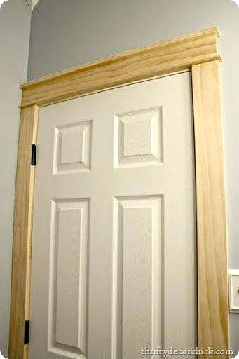 craftsman style door trim how to install farmhouse door