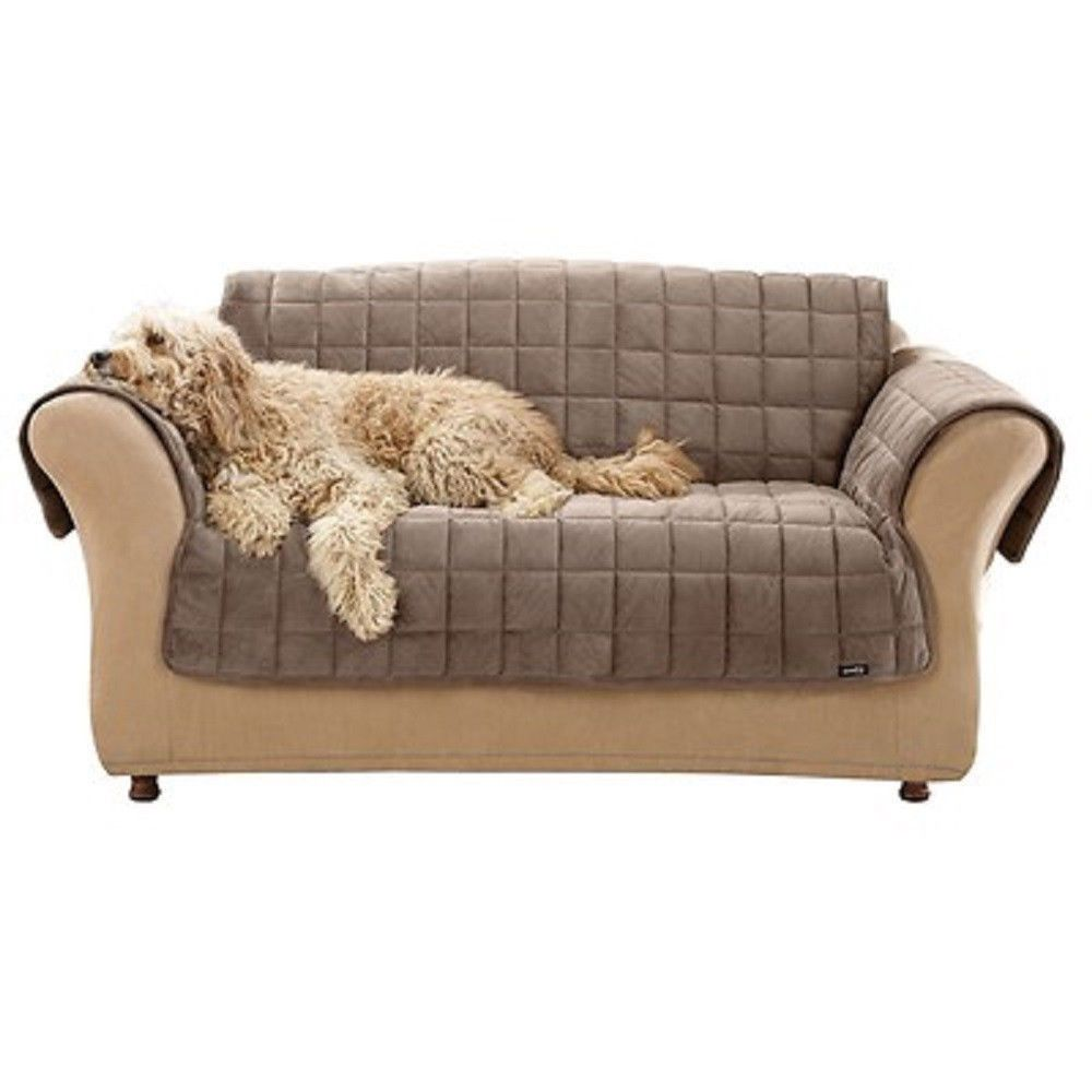 Pet Sofa Throw Furniture Protector Blanket Cover Couch Animal Hair Stains Odors Dog Cat Loveseat Rest Sleep Bed Surefit