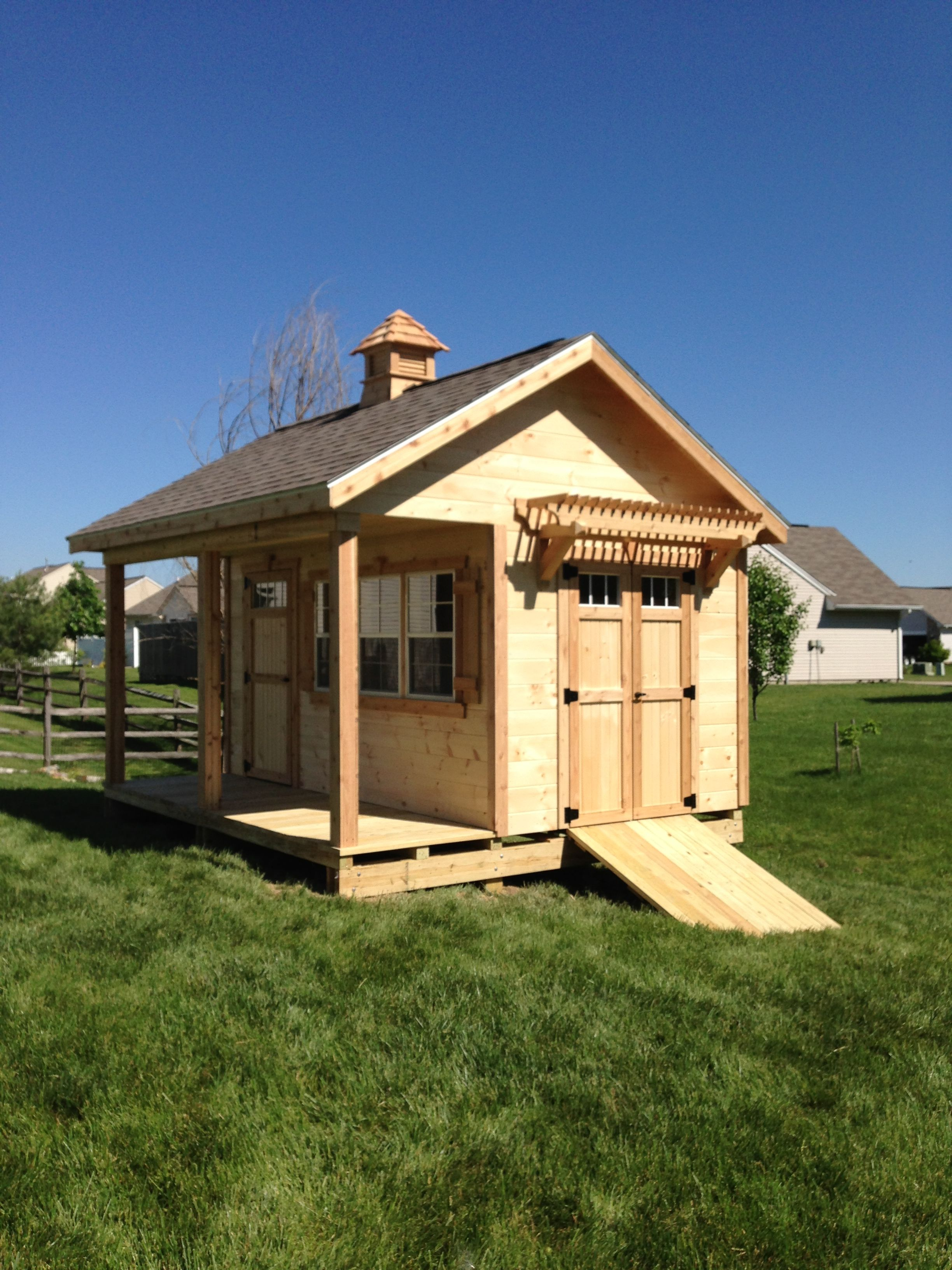 i like this multipurpose shed and porch design shed plans