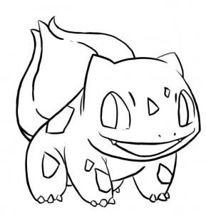 How To Draw Bulbasaur From Pokemon Step By Step Pokemon