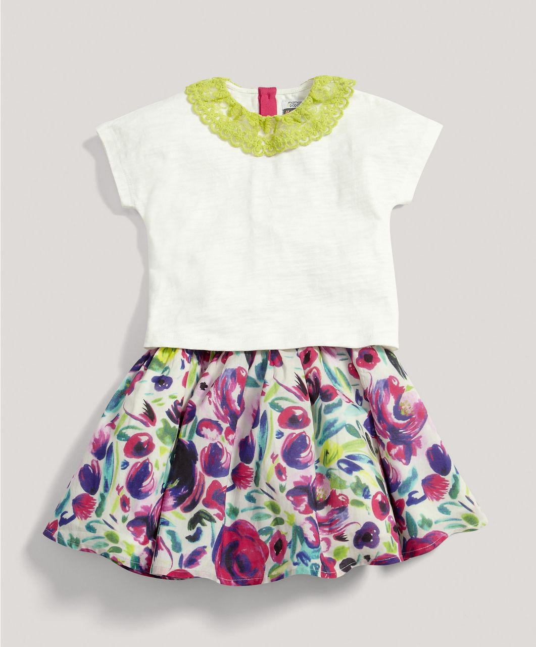Girls Limited Edition Skirt and Tee Set