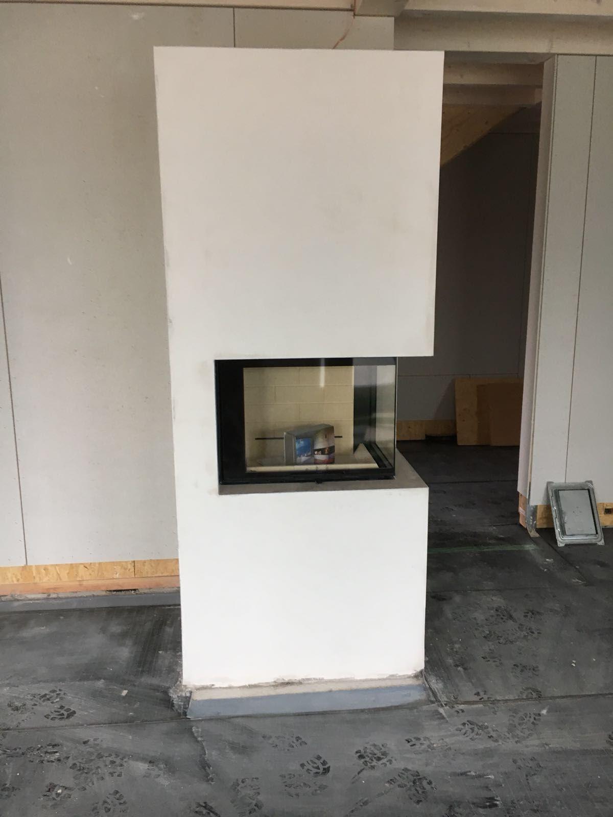 Kamin Verputzen Leichtbau Schornstein Im Trockenbau Bauhandwerk