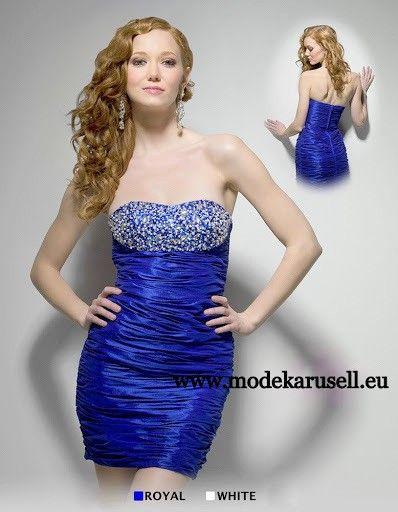 Pailletten Cocktailkleid Abendkleid Kurz in Blau | Kleider 2017 ...